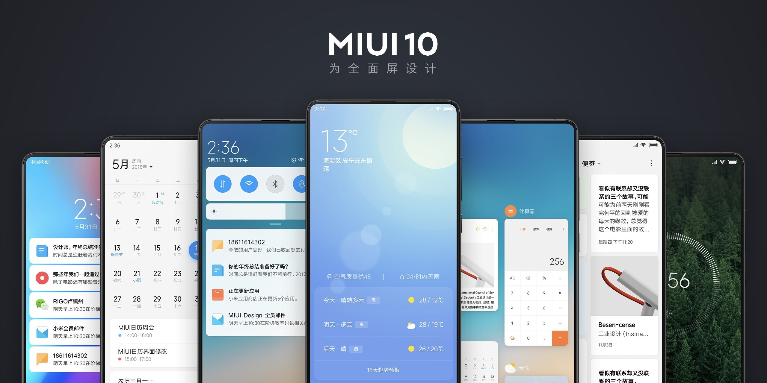 MIUI 10 : liste des smartphones mis à jour et date de déploiement