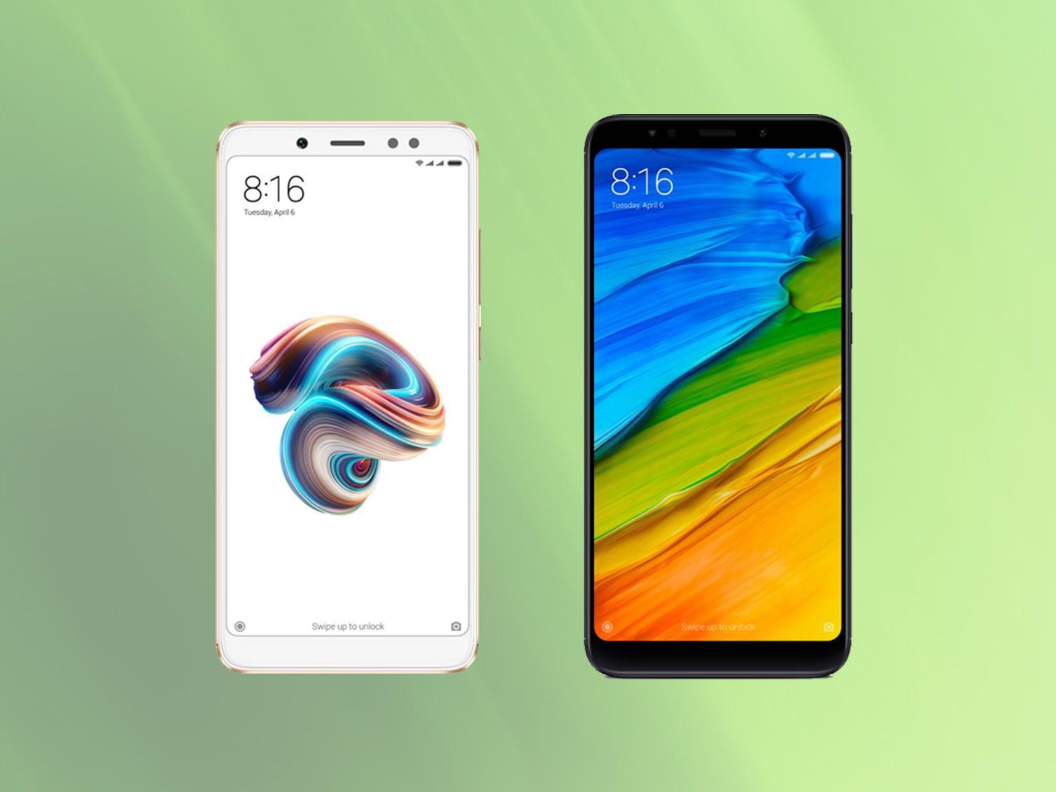 Ne vous trompez plus : voici les différences entre les Xiaomi Redmi Note 5 et Redmi 5/5 Plus