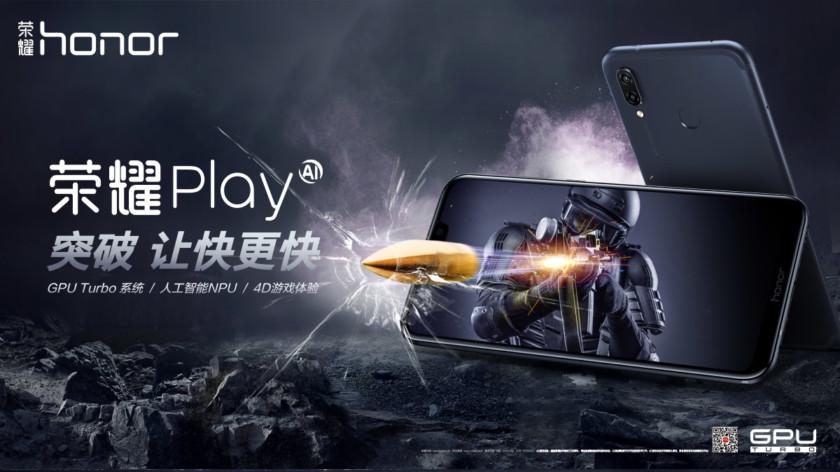Honor Play : encore un smartphone «gamer», mais bien moins cher