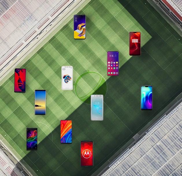 Découvrez la meilleure équipe de foot… de smartphones !
