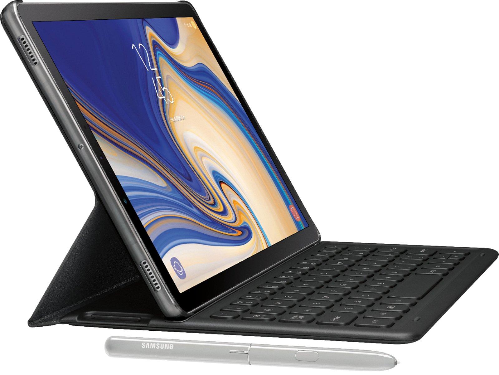 Samsung Galaxy Tab S4 : un rendu presse officiel montre son design avant l'annonce