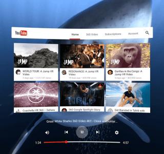 Samsung Gear VR : l'application YouTube VR débarque enfin sur le casque de réalité virtuelle