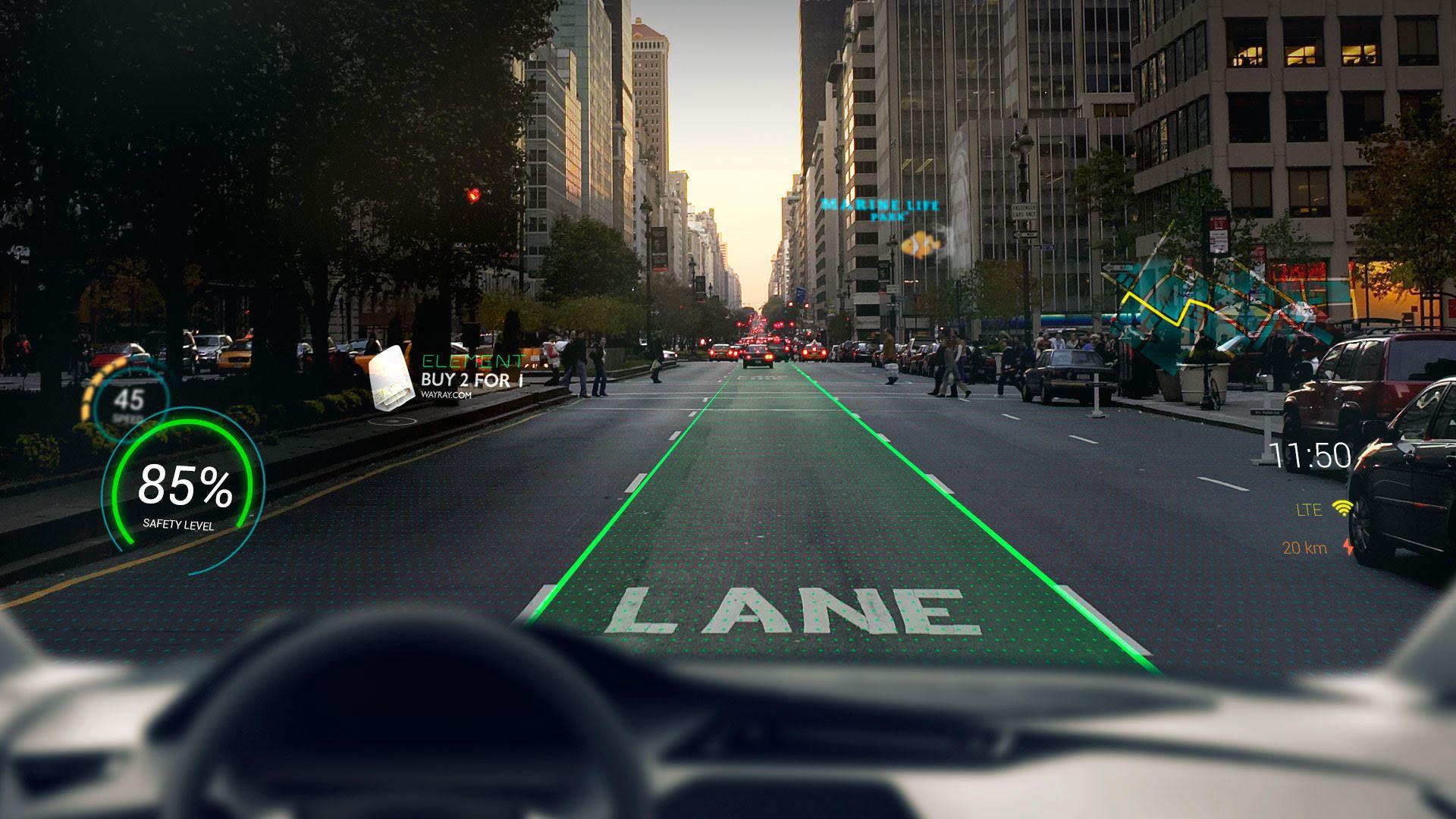 Apple développerait un pare-brise en réalité augmentée dédié aux voitures autonomes