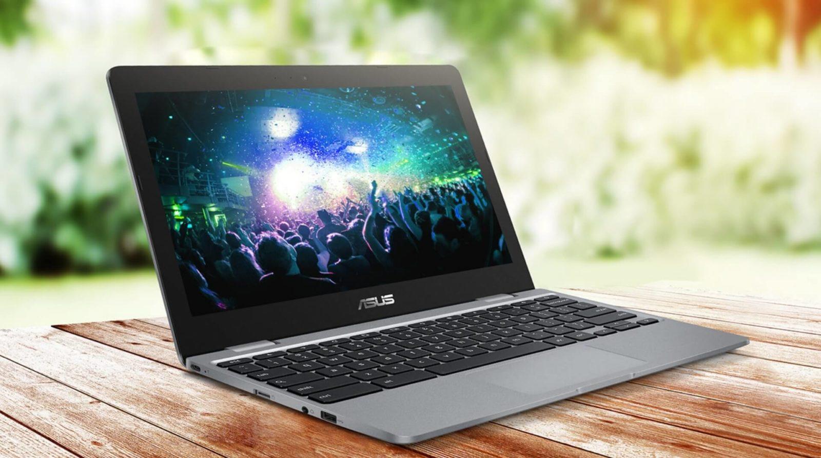 L'Asus Chromebook 12 C223 est officiel : autonomie de 10 heures et poids plume au programme