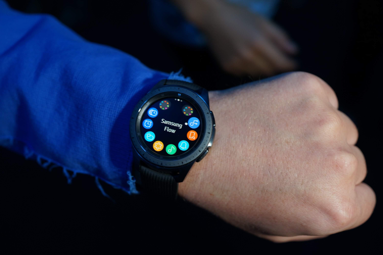 Samsung Galaxy Watch : nos photos et premières impressions de la montre connectée coréenne