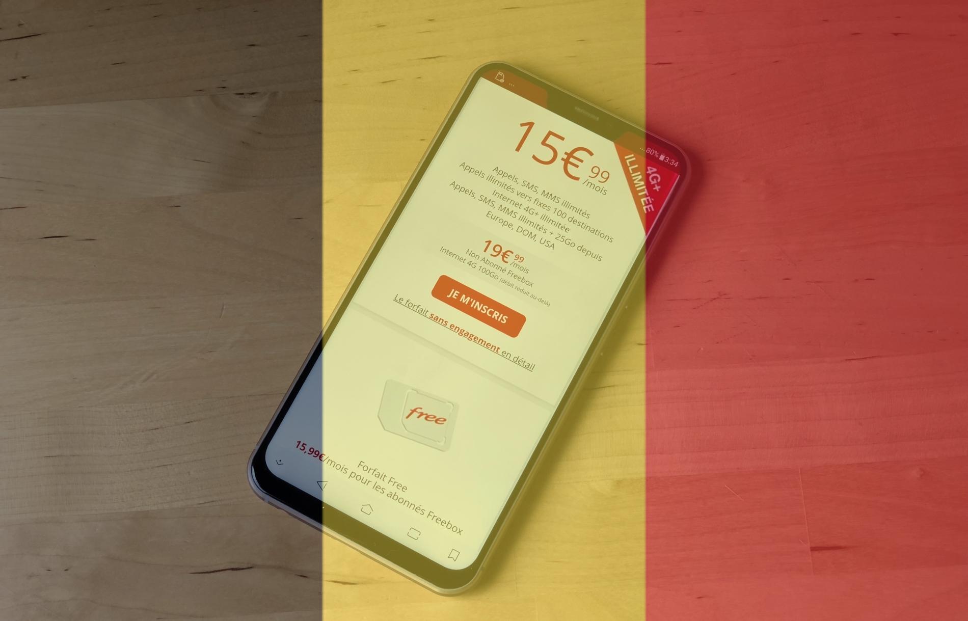 Iliad Mobile (Free) n'exclut pas un lancement en Belgique et en Allemagne