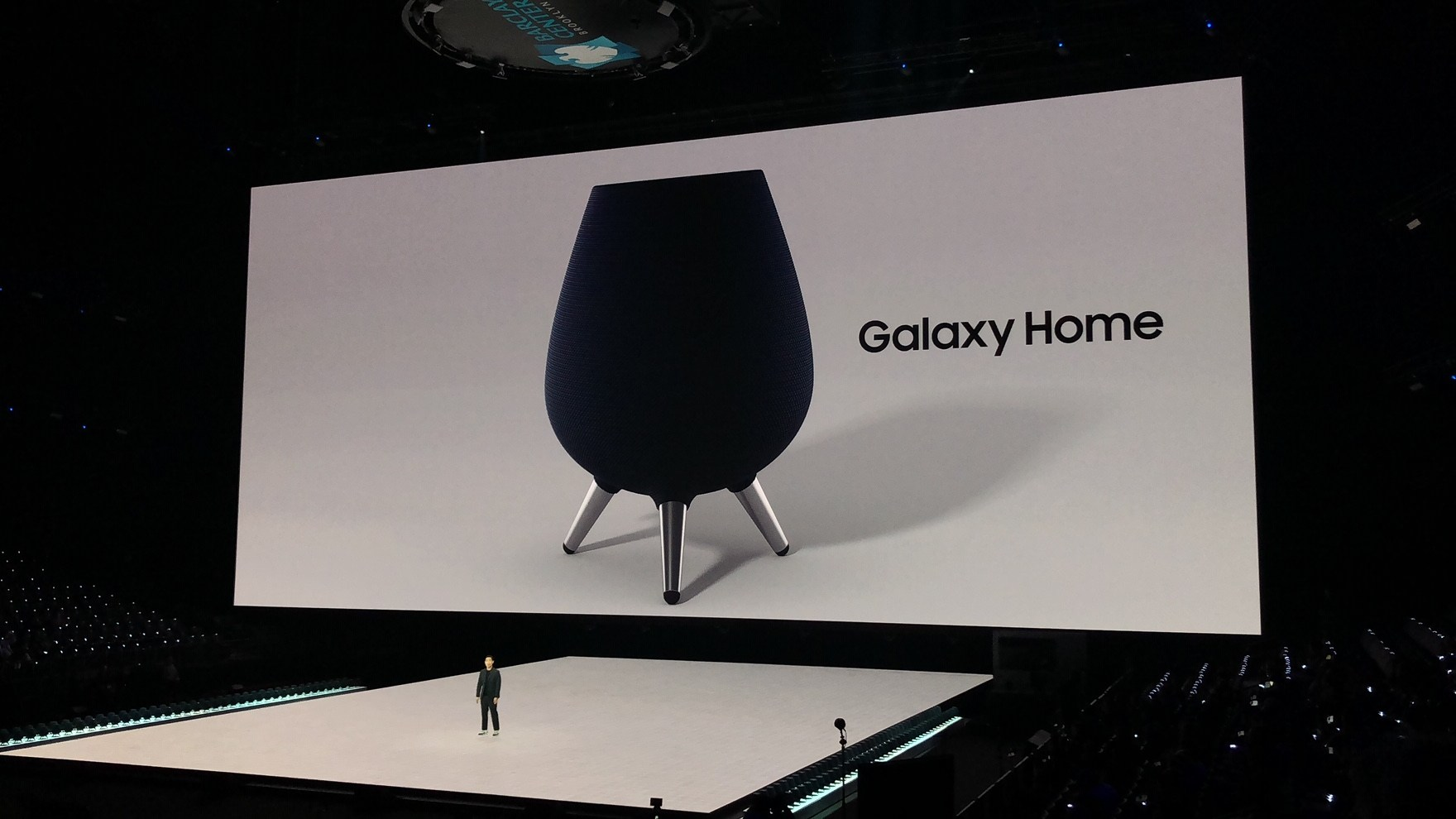 Samsung Galaxy Home : l'enceinte connectée Bixby conçue par AKG