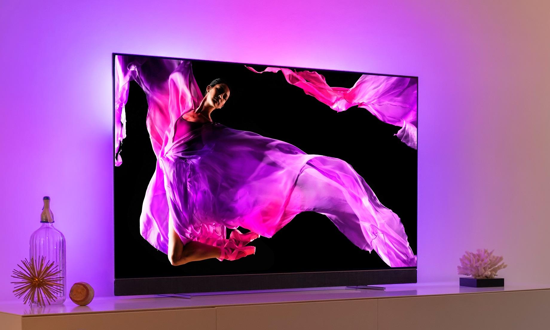 IFA 2018 : Philips présente trois nouveaux téléviseur OLED et 4K