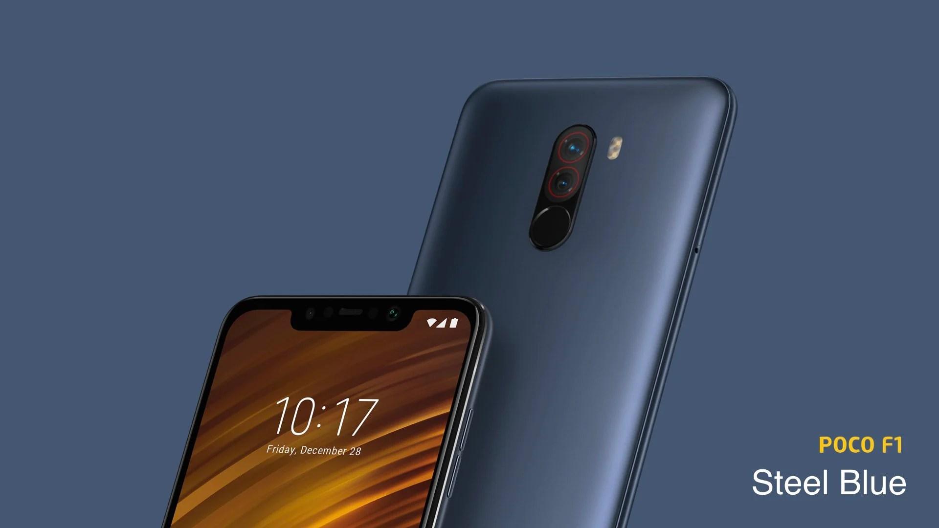 Le Poco Pocophone F1 de Xiaomi est officiel : le smartphone pragmatique