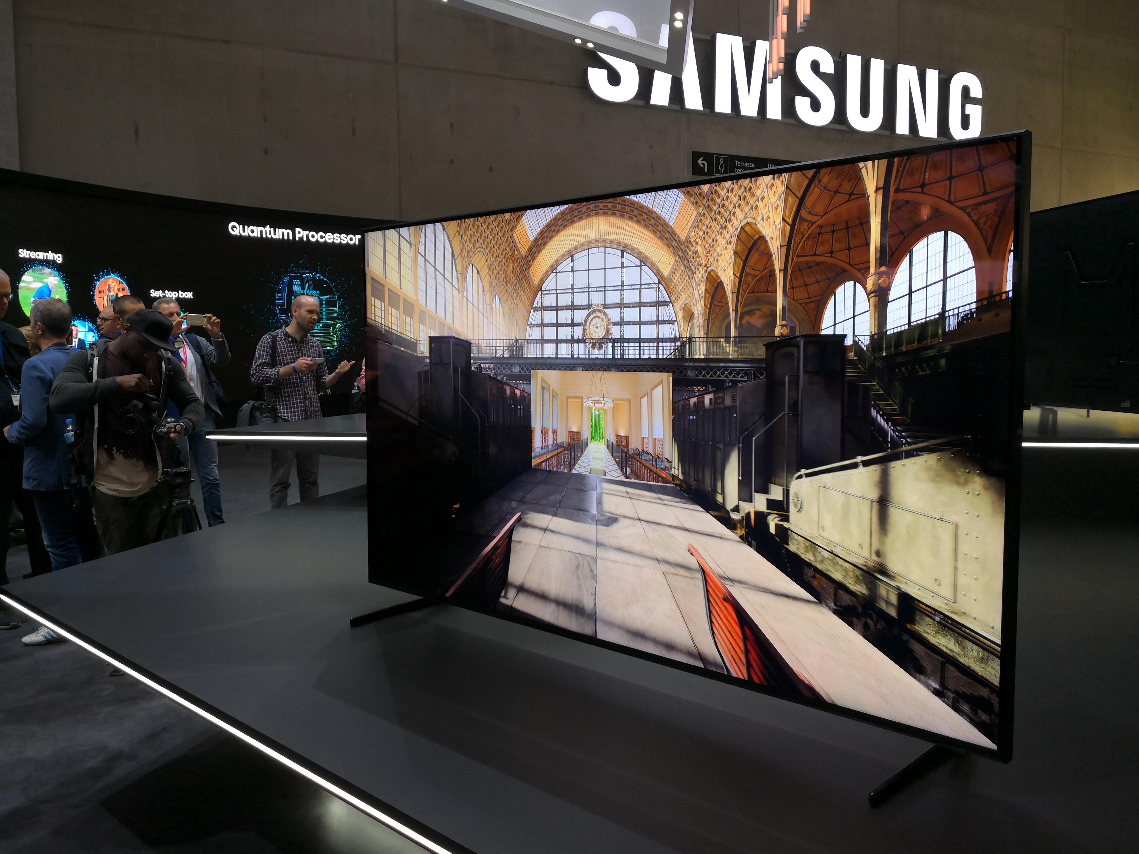 Comment Samsung a imaginé une TV 8K qui se bonifie avec le temps – IFA 2018