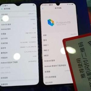 L'écran bord à bord du Vivo X23 comparé à celui de l'Oppo R17
