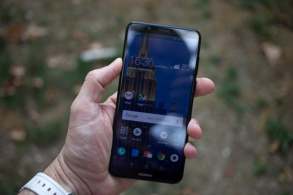 Test du Huawei Y7 2018 : pas encore suffisant