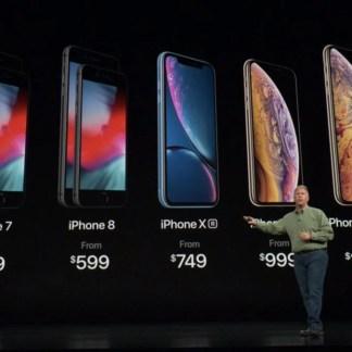 Apple iPhone XS, XS Max, XR et Watch Series 4 : dates de sortie et prix des nouveaux produits