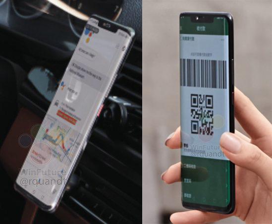 Huawei Mate 20 Pro : deux nouvelles photos pour admirer son écran incurvé