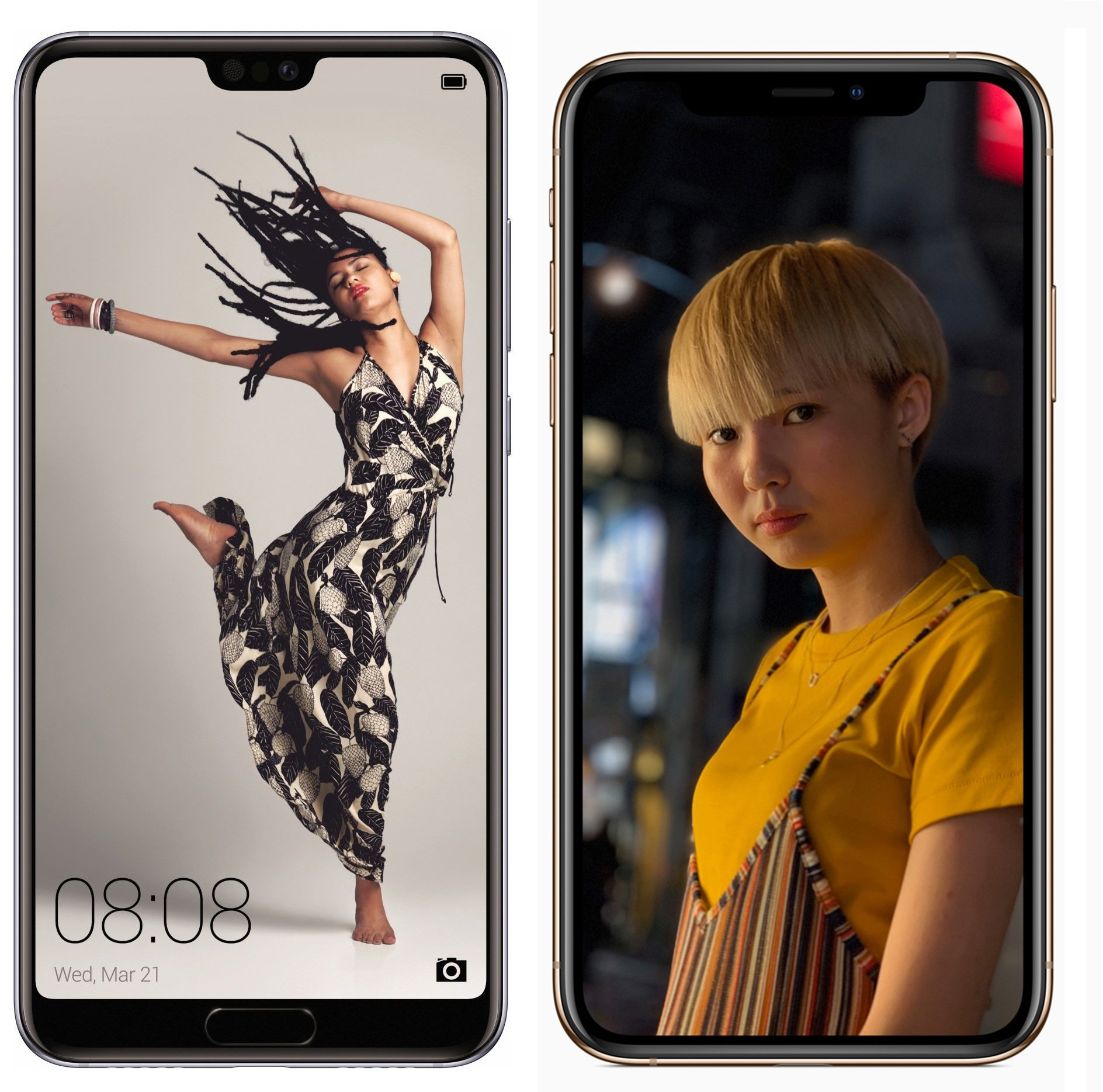 Apple iPhone XS vs Huawei P20 Pro : un nouveau challenger pour devenir le roi de la photo