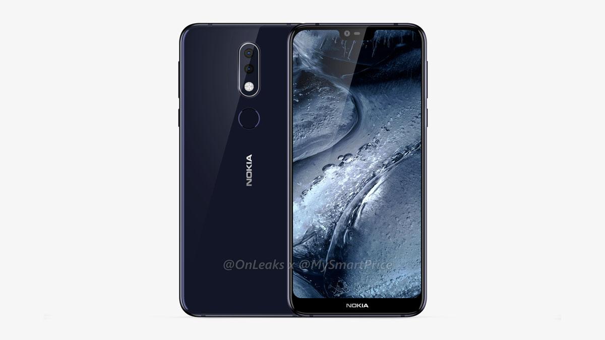 Le Nokia 7.1 Plus à encoche se montre sous toutes les coutures en images et vidéo