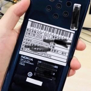 Le prochain Nokia se montre avec non pas 3, ni 4, mais 5 objectifs photo au dos