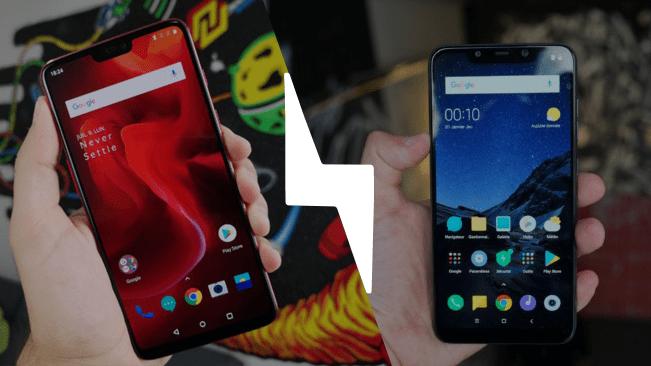 Pocophone F1 vs OnePlus 6 : lequel des deux est le meilleur smartphone en 2018 ?