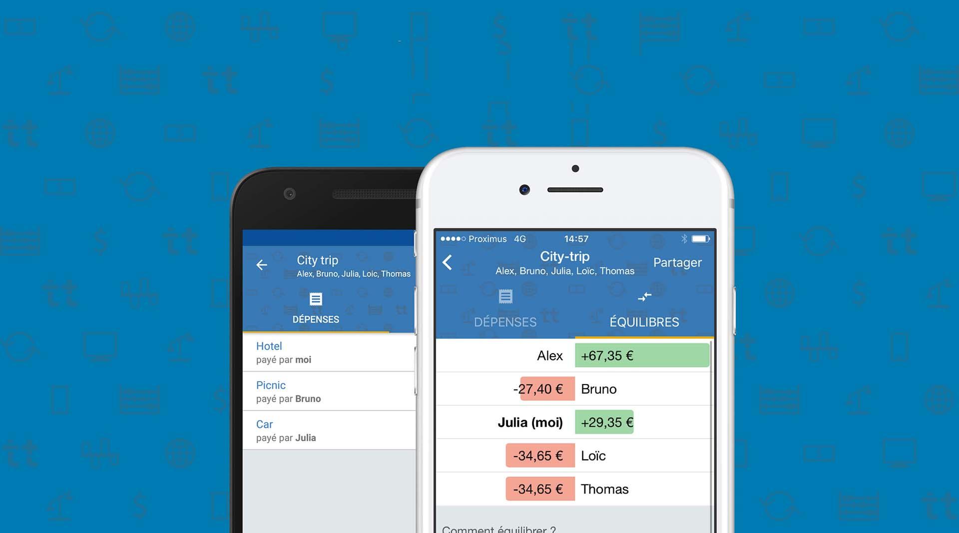L'app de la semaine : Tricount pour de bons comptes entre bons amis