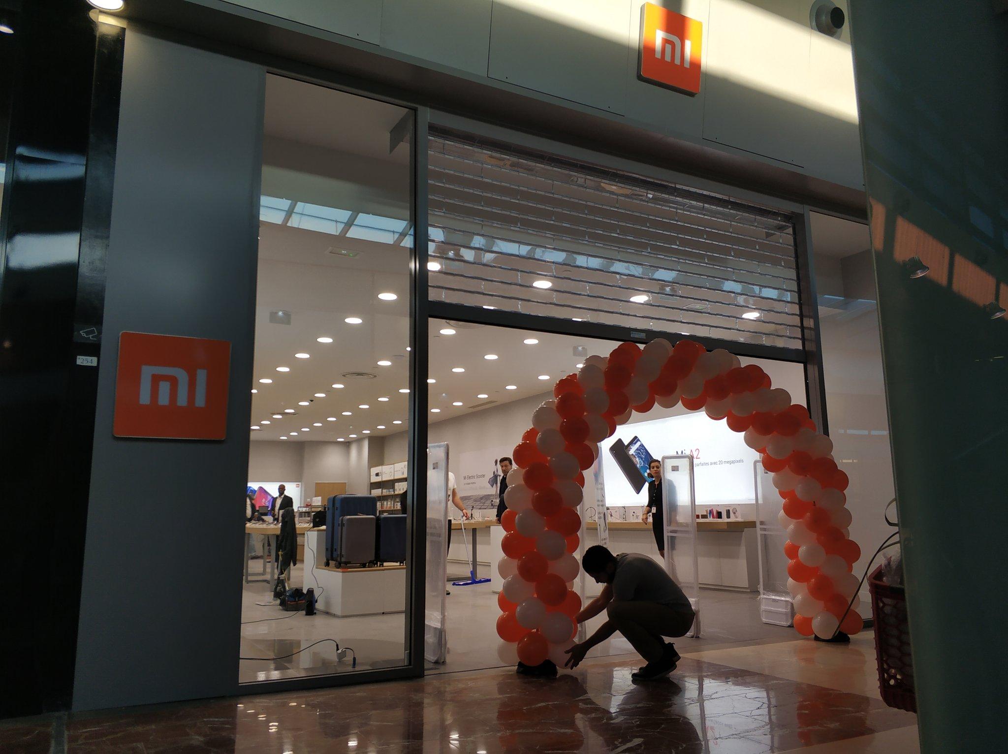 Xiaomi : le Mi Store de Vélizy 2 a ouvert ses portes