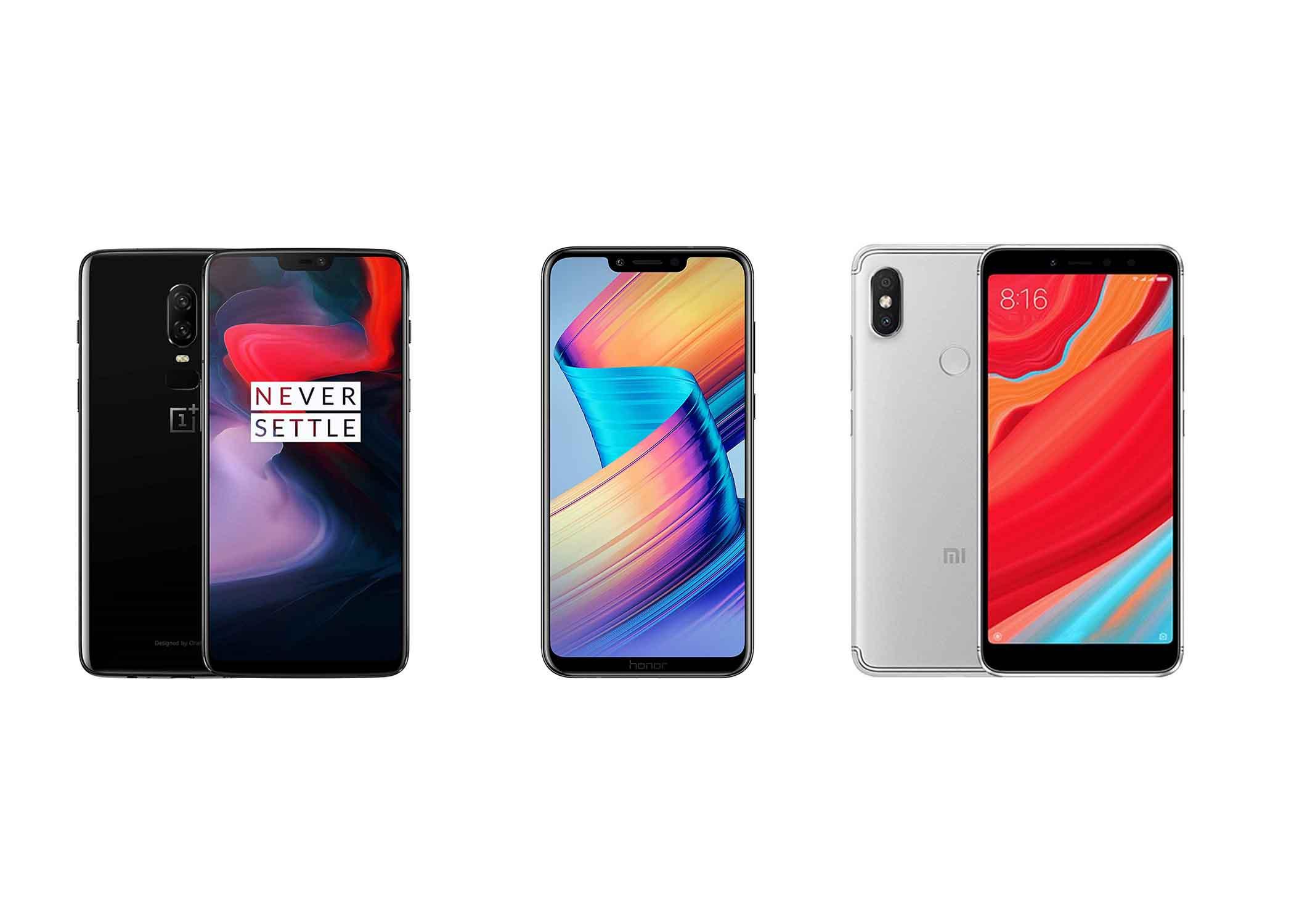 Xiaomi Redmi Note 6 Pro à 154 euros, Xiaomi Redmi S2 à 107 euros, Honor Play à 290 euros sur GearBest