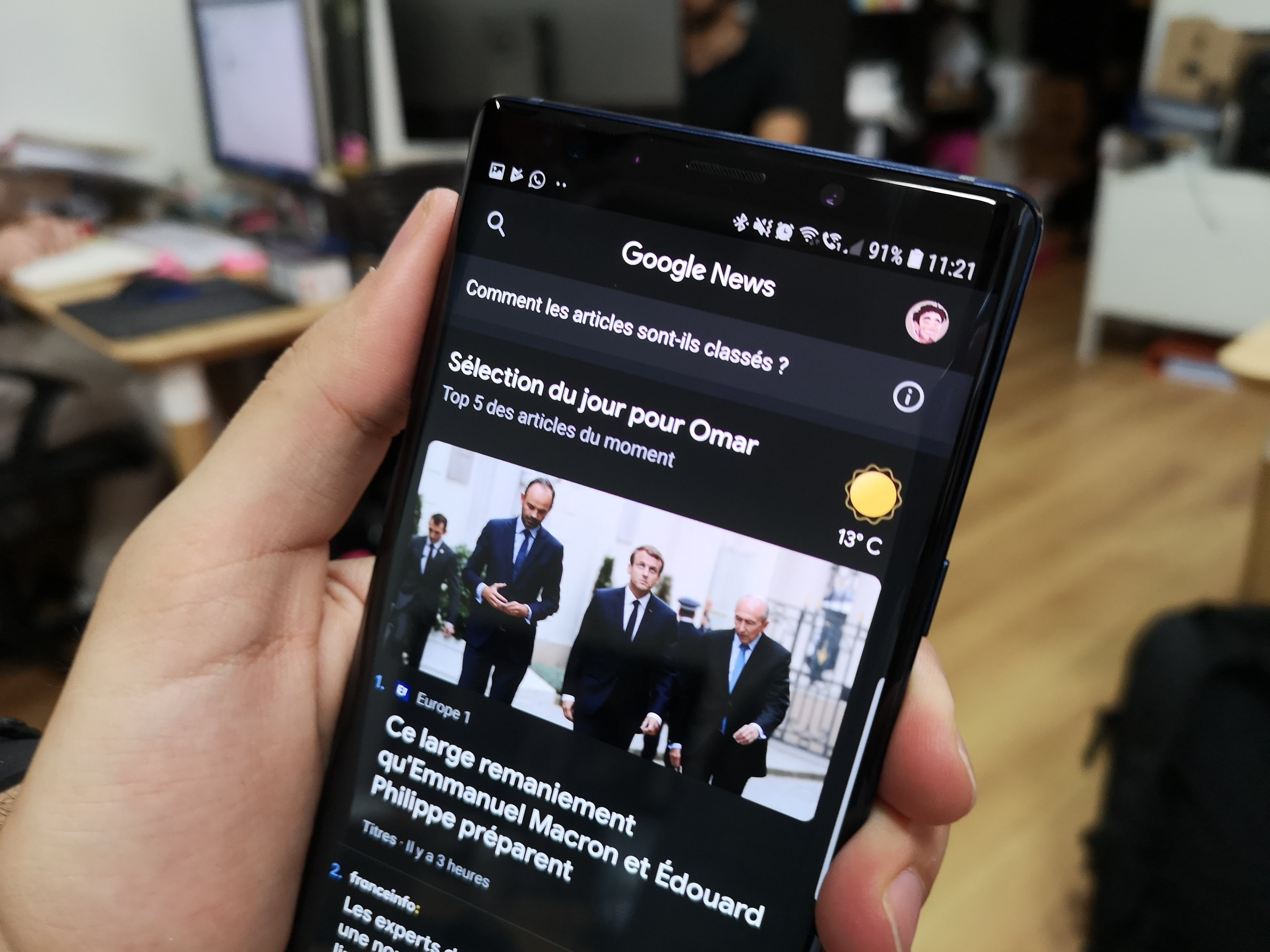 Google Actualités : nouveau design pour une meilleure identification des sources