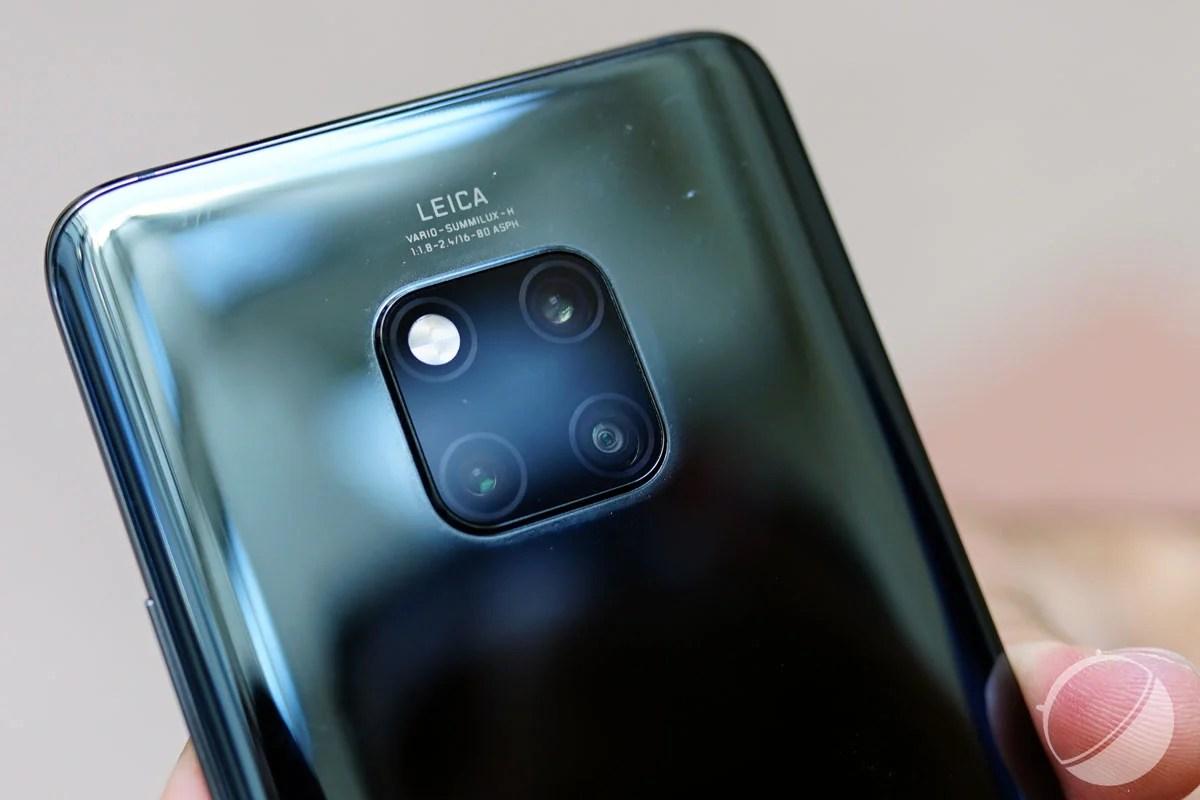 Huawei veut lancer un smartphone avec 4 appareils photo l'an prochain