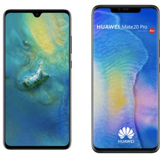 Huawei Mate 20 et Mate 20 Pro officialisés : triples capteurs photo et grandes batteries