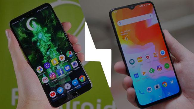 OnePlus 6T VS Huawei P20 Pro : lequel est le meilleur smartphone fin 2018 ? – Comparatif