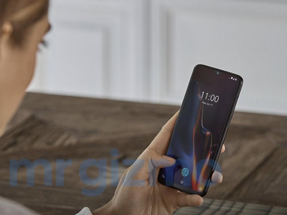 Le OnePlus 6T se montre en train d'être utilisé dans une série de photos