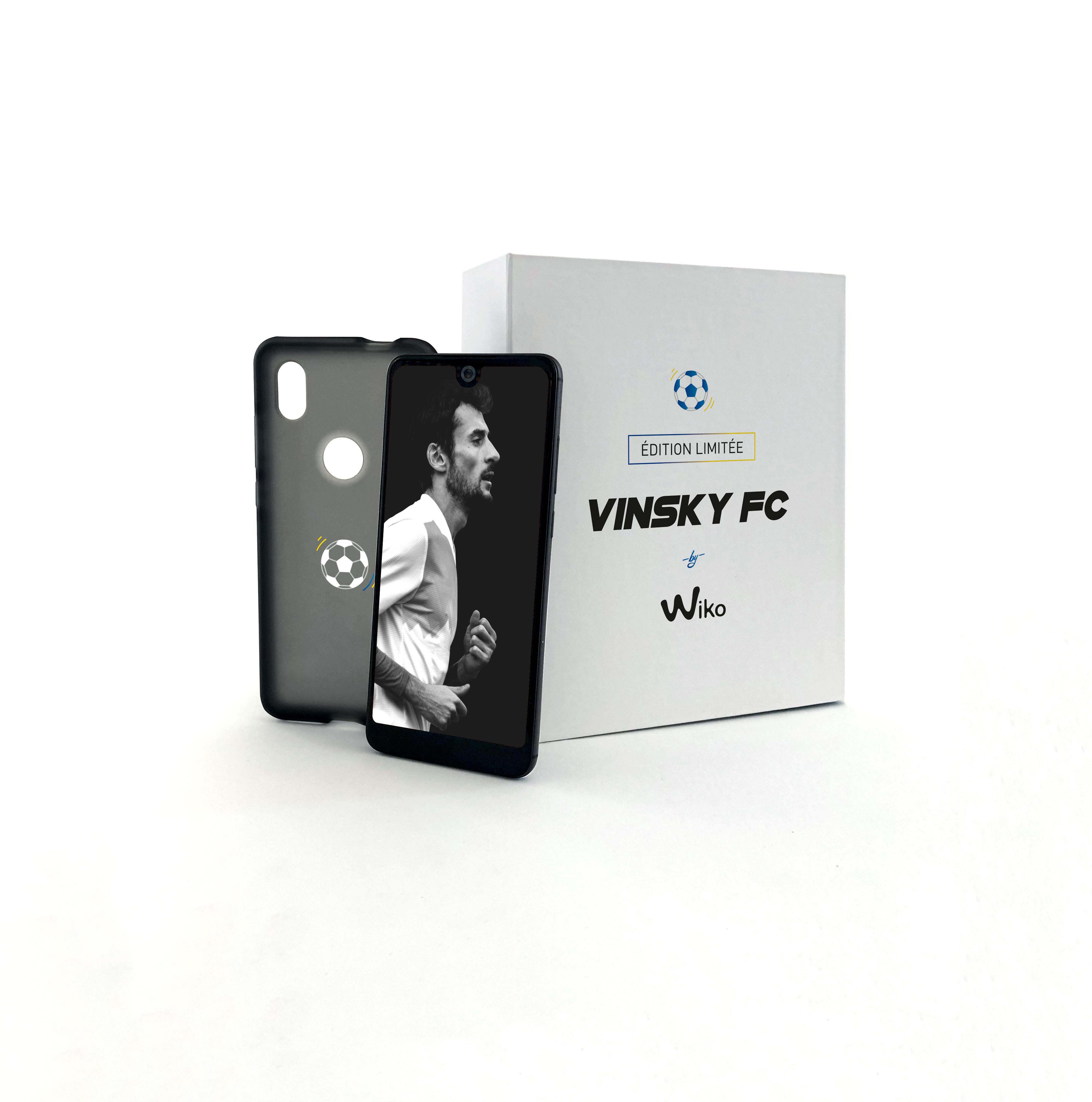 Profitez du package Wiko View 2 avec une coque YouTubeur en édition limitée à 180 euros