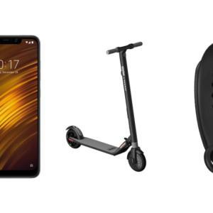 Xiaomi Mi Band 3 à 21 euros, Pocophone F1 à 271 euros et Ninebot Segway ES2 à 332 euros sur GearBest