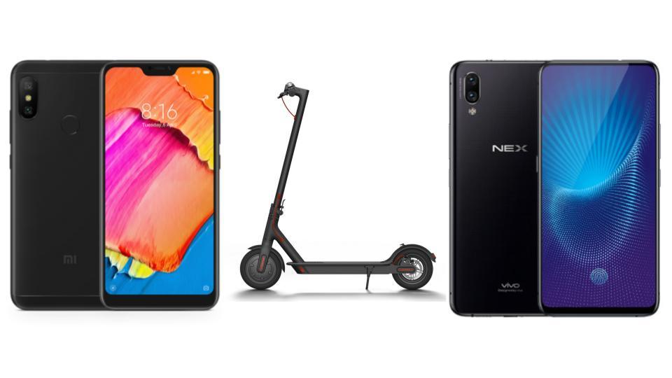 Xiaomi Redmi Note 6 Pro à 174 euros, Vivo Nex à 546 euros et Ninebot Segway ES2 à 334 euros sur GearBest
