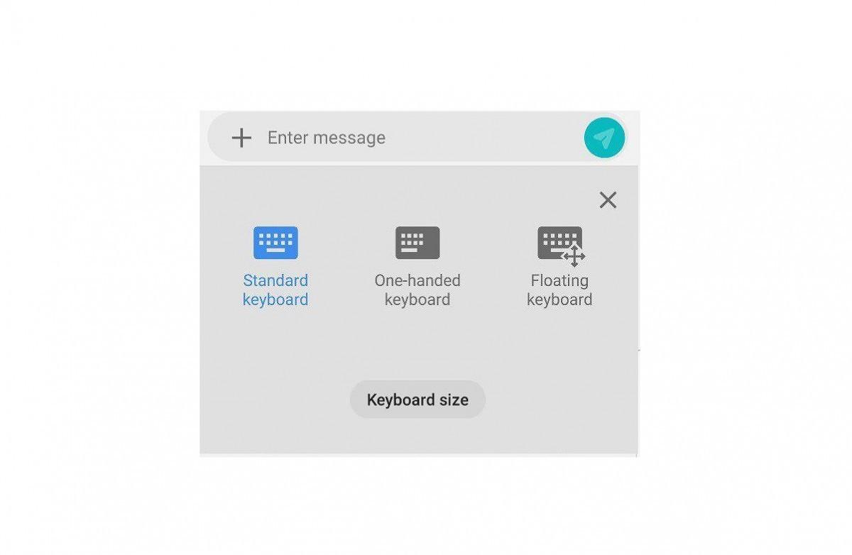 Android 9 Pie : Samsung intégrerait un clavier flottant sur sa nouvelle interface