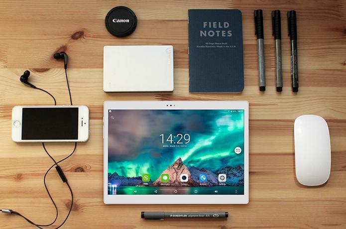 Alldocube X, le projet d'une tablette Android avec un écran Super AMOLED pour 190 euros