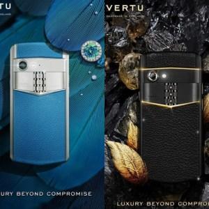 Un improbable smartphone à 12 850 euros : Vertu revient d'entre les morts