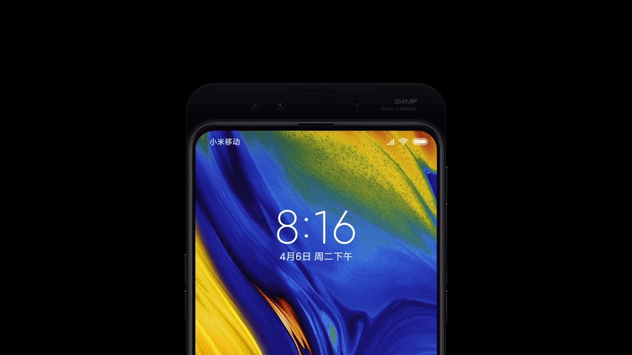 Xiaomi Mi Mix 3 : un teaser vidéo pour l'écran borderless à slider