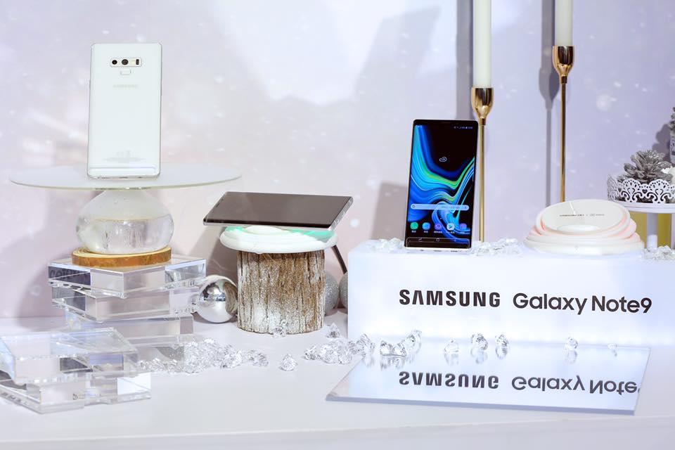 Samsung Galaxy Note 9 : voici un coloris blanc du plus bel effet, mais vous n'y aurez pas droit
