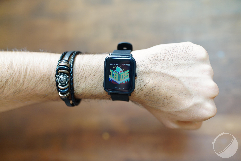 Test de la Xiaomi Huami Amazfit Bip : un clone de l'Apple Watch avec 30 jours d'autonomie