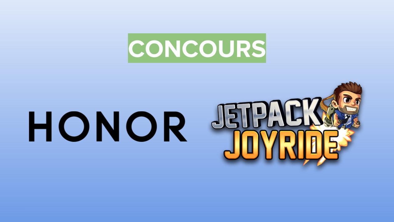 Partagez votre meilleur score à Jetpack Joyride pour remporter des lots Honor