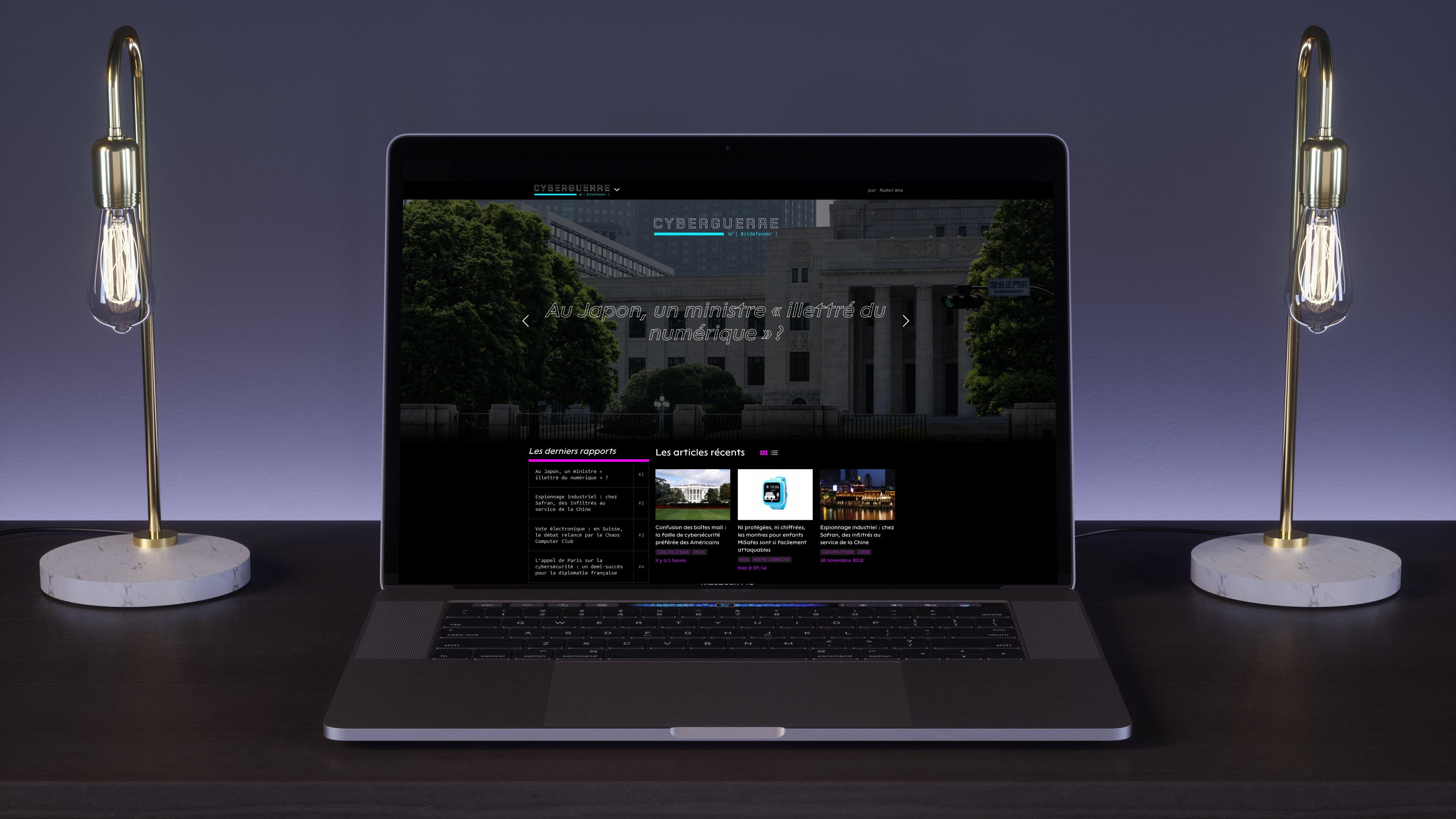 Découvrez Cyberguerre, le nouveau média de Numerama dédié à la cybersecurité