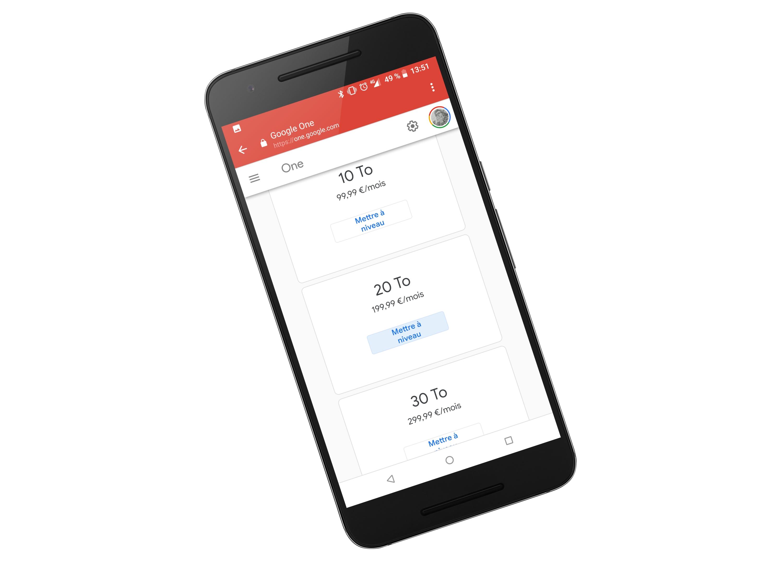Google One arrive en France : voici les prix des nouveaux abonnements