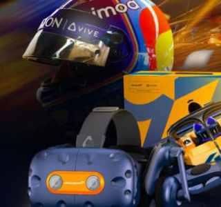 Avec le casque HTC Vive Pro McLaren, plongez dans le monde de la F1 en réalité virtuelle