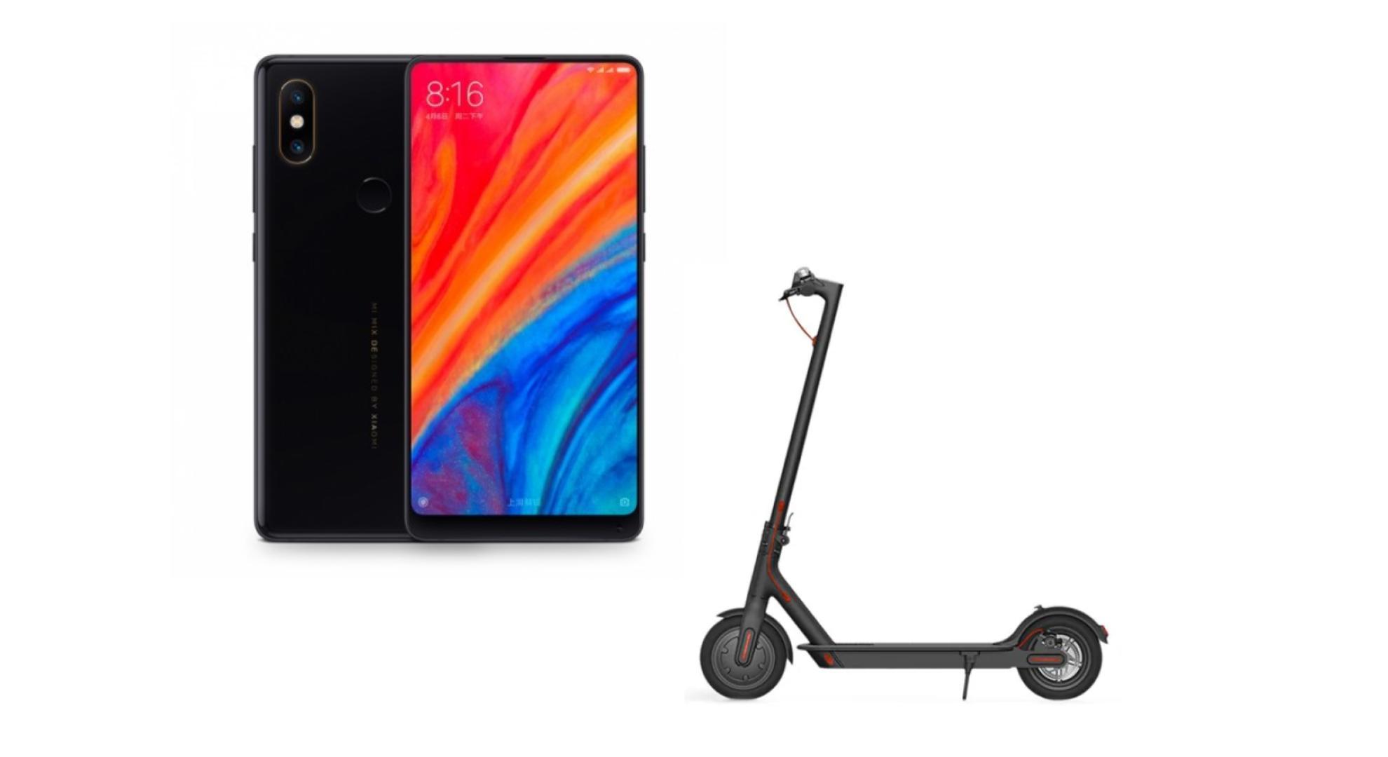 🔥 Le bon plan que l'on conseille : le Xiaomi Mi Mix 2S et la trottinette électrique M365 pour 599 euros