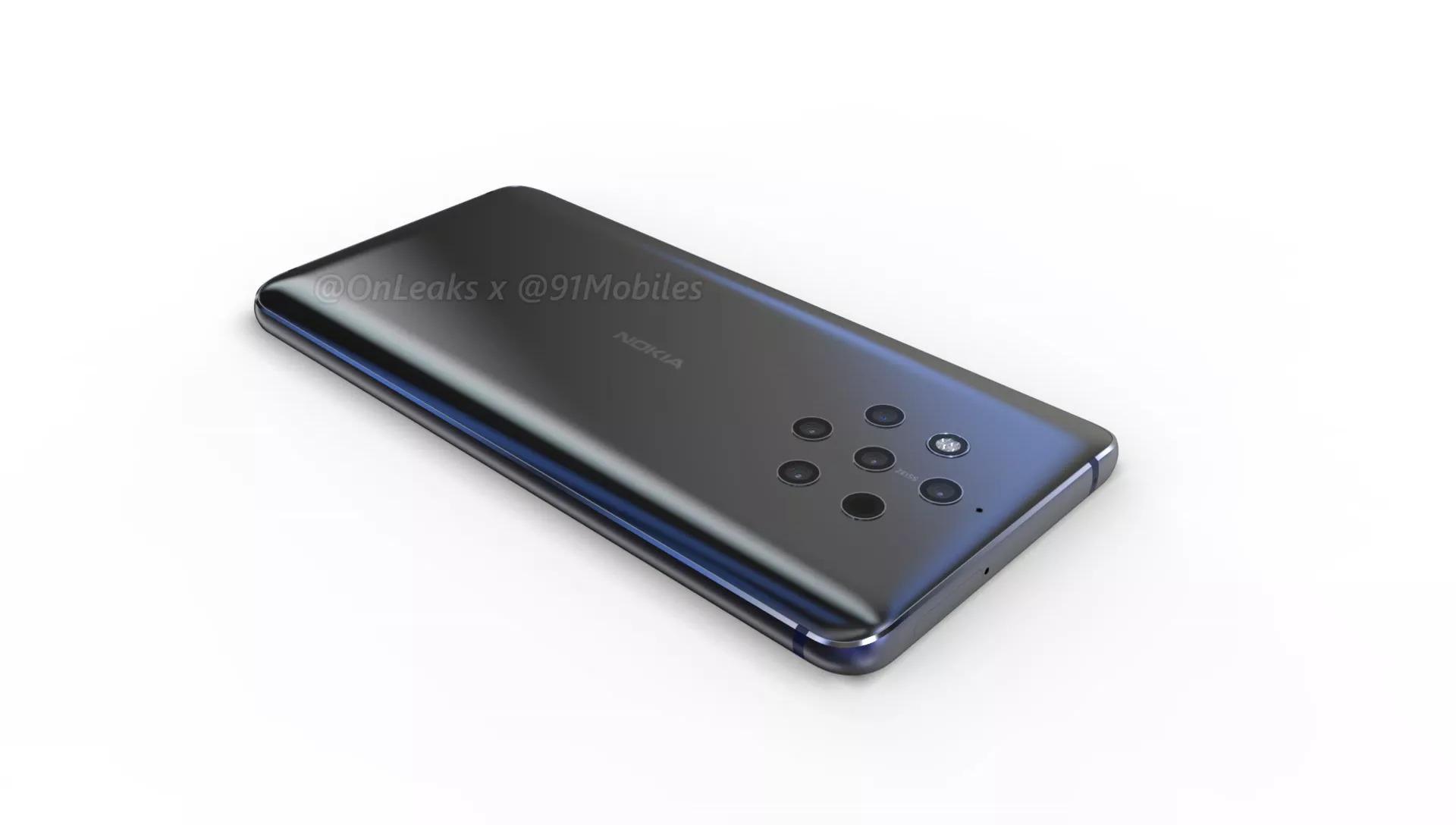 Nokia 9 : admirez ses 5 objectifs photo dans ce rendu vidéo