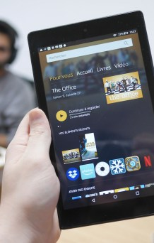 Test de l'Amazon Fire HD 8 (2018) : une tablette...