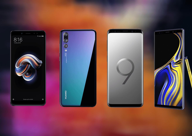 Déstockage : Huawei P20 Pro, Xiaomi Redmi Note 5 et Samsung Galaxy S9 et Note 9 bradés sur eBay