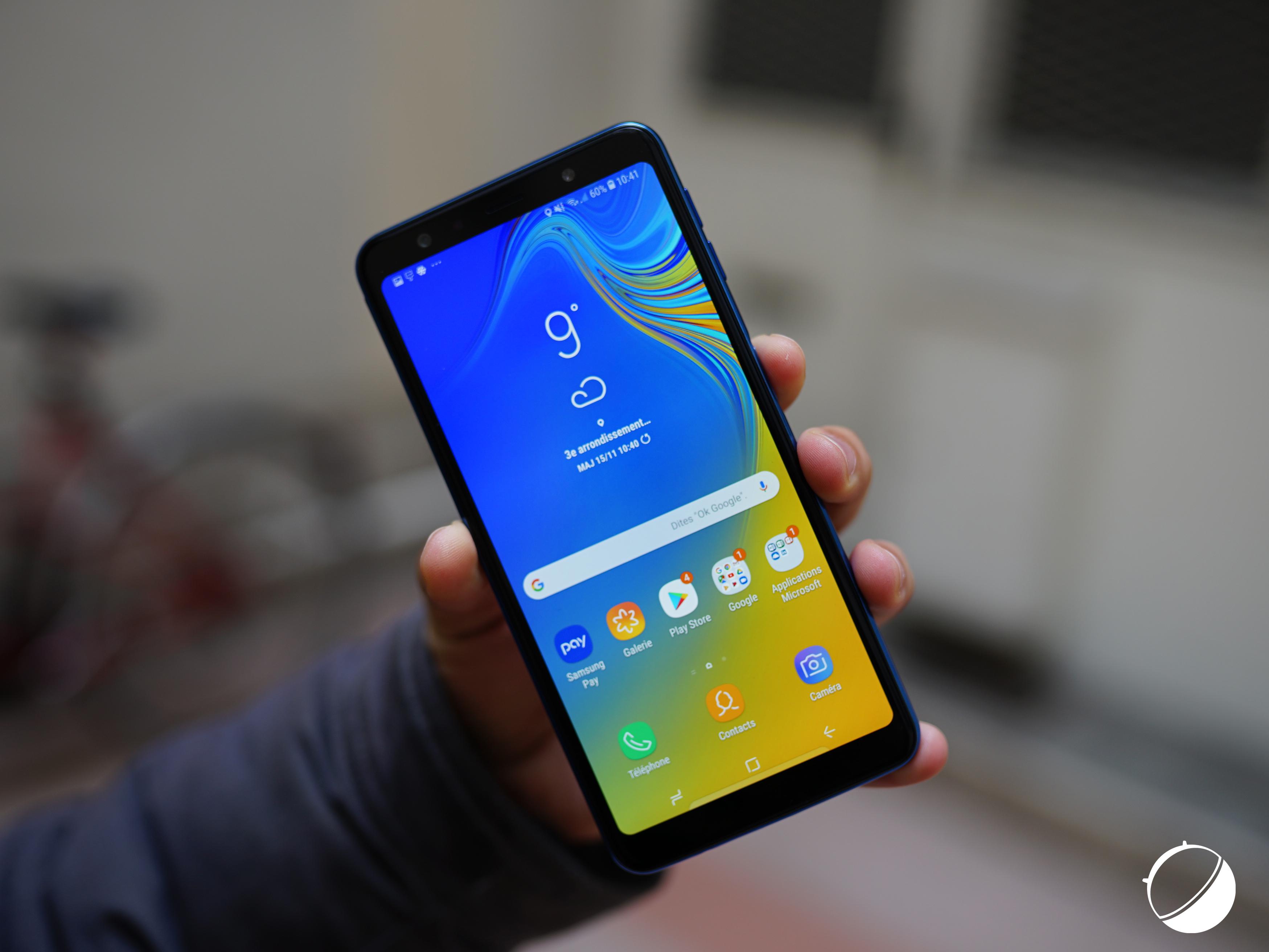Samsung Galaxy M30 : lui aussi aurait une encoche et une batterie de 5000 mAh