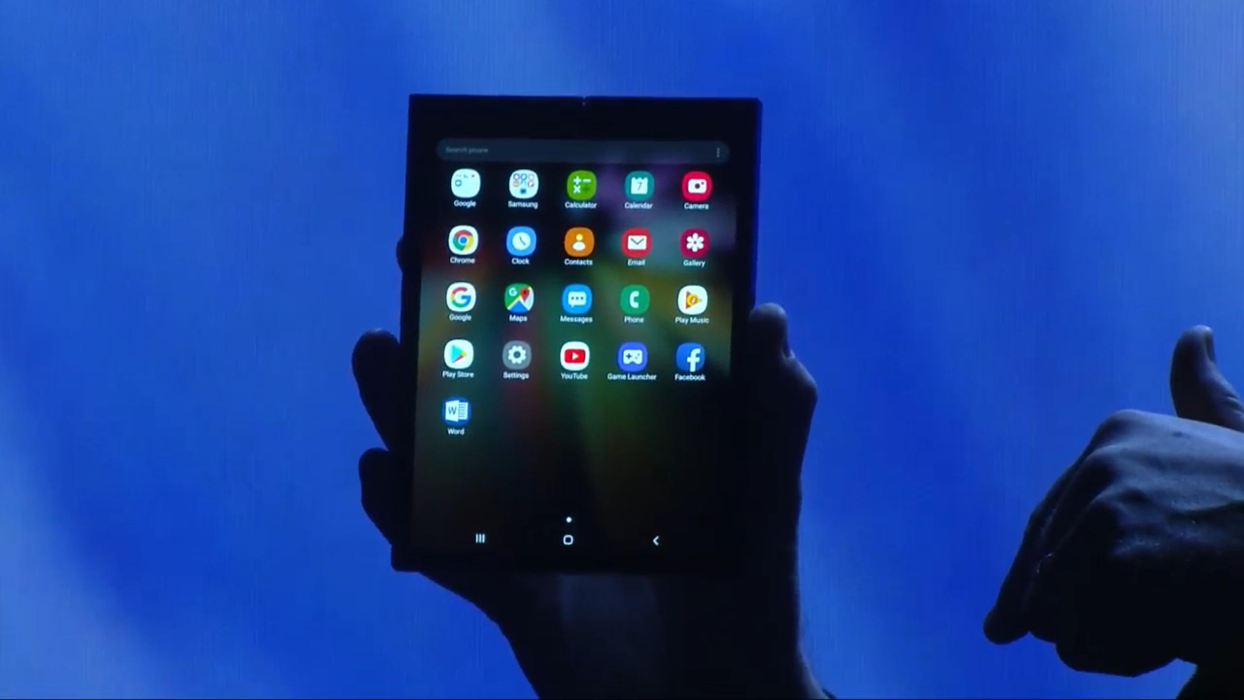 Le Galaxy F, smartphone pliable de Samsung, coûterait bien une petite fortune