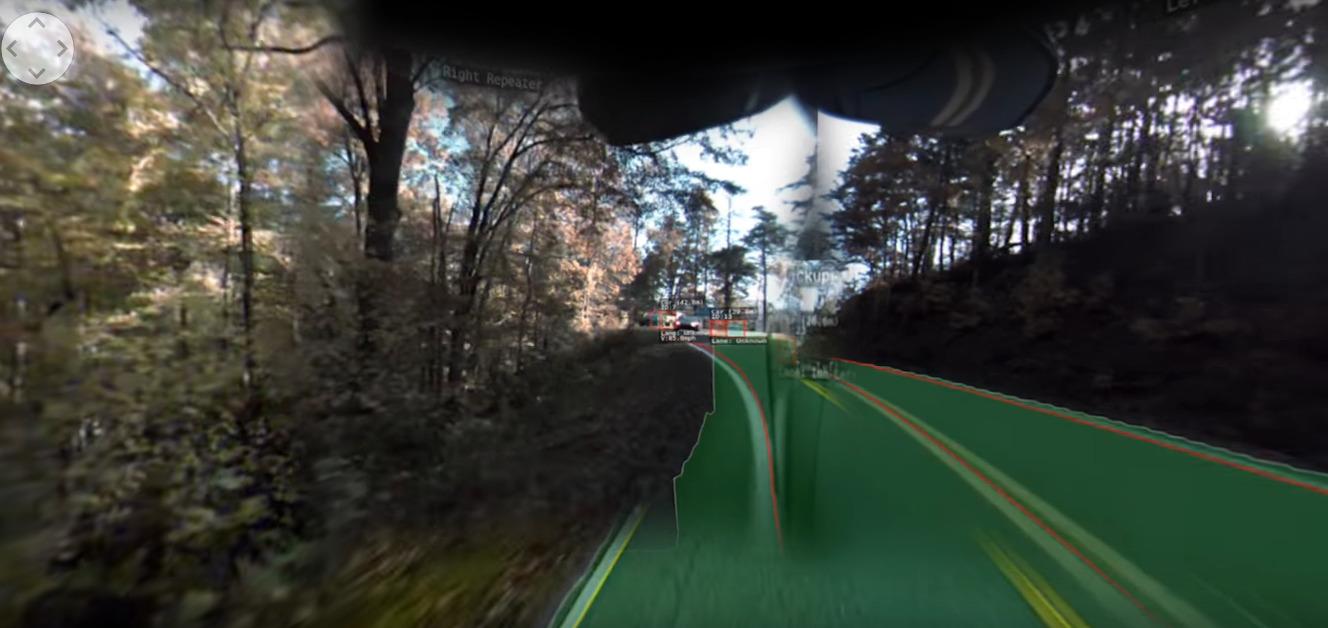 Tesla Model 3 : rentrez dans la peau de son Autopilot avec cette vidéo à 360°